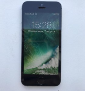 iPhone 5s 16 gb space gray.