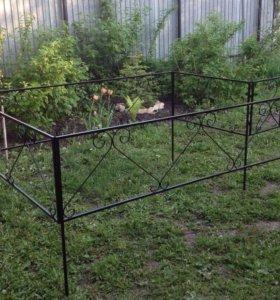 Ограда ритуальная