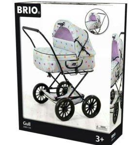 Коляска-люлька для кукол Brio новая