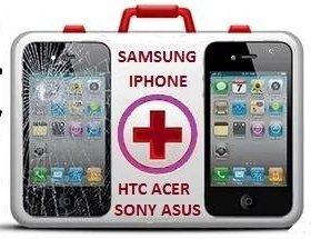 Замена стекла Samsung iPhone. Ремонт телефонов