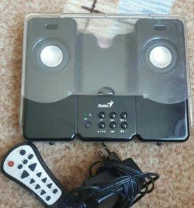 Genius Мини-стереосистема для плееров iPod