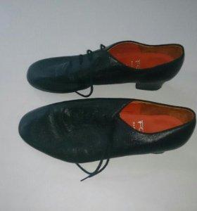 Туфли для бальных танцев, мужские, латина.
