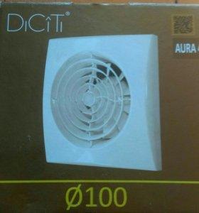 Вентилятор бесшумный Аура 4 Ду 100