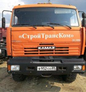 Камаз 44108 + прицеп МАЗ