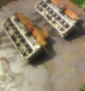 Головки блока цилиндров ЗИЛ 130 в сборе,притертые.