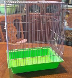 Клетка для мелких грызунов или попугайчиков