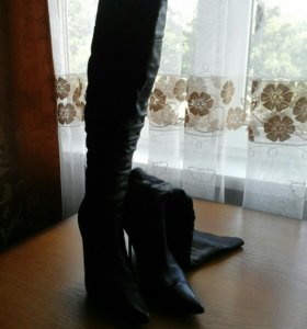 Сапоги женские ботфорты