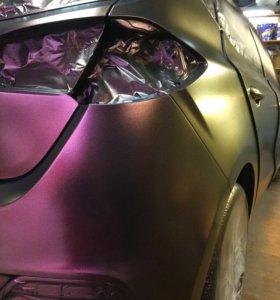 Покраска авто жидкой резиной Plastidip