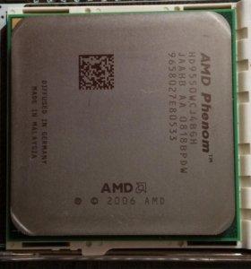 AMD Phenom X4 9550+Оперативная память и охлаждение
