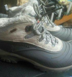 Зимние ботинки merell
