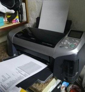 Принтер цветной струйный 6 цветов