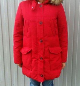 Пуховик пуховое пальто Tommy Hilfiger L