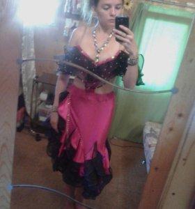 Платье для спортивно-бальных танцев, латина