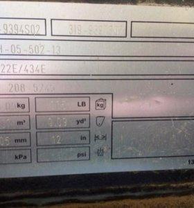 Ковш узкий оригинал CAT 422Е/434Е быстросъемный