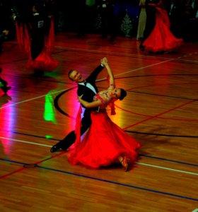 Платье для спортивно-бальных танцев,стандарт