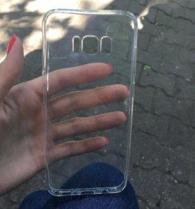 Бампер на Samsung s8+