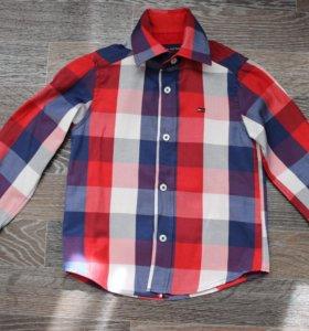 Новая рубашка из Турции на 98