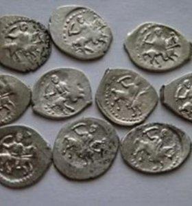 Монеты( чешуйки) Ивана Грозного