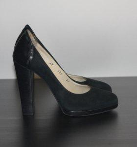 Туфли женские ADAM нат.кожа (велюр)