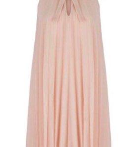 Плиссированное платье