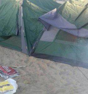 Шатер с палаткой