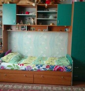 Детская спальная для двух детей.