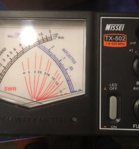 NISSEI TX-502 - для измерения КСВ и мощности.