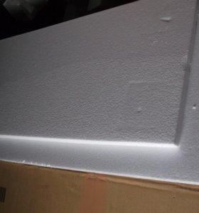 пенопласт белый 1,5см толщиной разными кусками