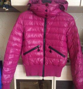 Куртка BENETTON розовая