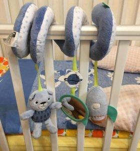 Мобиль для детской кровати mothercare
