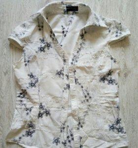 Блузка хб с вышивкой