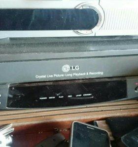 Видеомагнитафон Lg