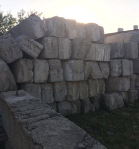 Блоки для фундамента.