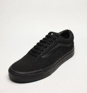 Черные кеды Vans