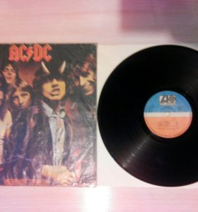 AC DC Highway To Hell LP (винил)