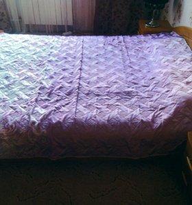 Двуспальная кровать (плюс скидка за комплект)