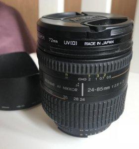 Nikon F Nikkor 24-85 1/2,8-4 D AF IF d72