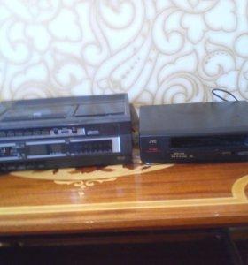 Видеомагнитофон и DVD
