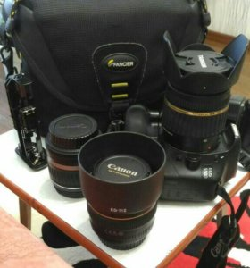 Фотоаппарат с принадлежностями Canon