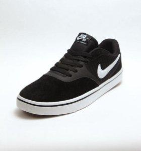 Черные Кеды Nike( натуральная замша)