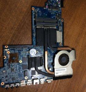 Плата ноутбука HP Pavilion dv6-6101er, рабочая