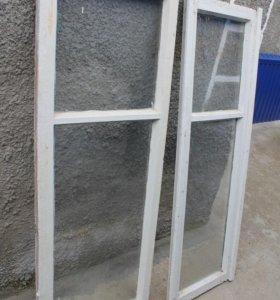 Окна деревянные Б/У