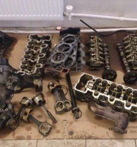 112 Двигатель от мерседес 320 4matic в разборе