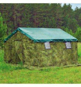 Армейская палатка БЕРЕГ-5М2 (4.1м х 3,5 м.)