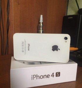 iPhone 4s 16gb в хорошем состоянии