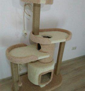 Когтеточка, комплекс для кошек, домик для кошек