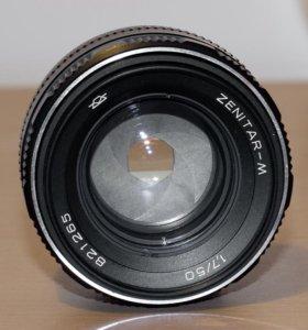 Zenitar-M 50mm, f1.7 (экспортный вариант)