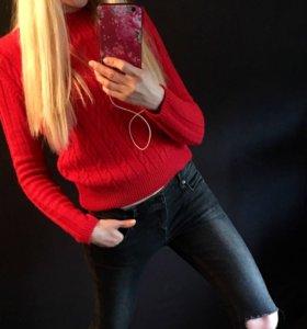 Английский бренд: RIVER ISLAND свитер красный