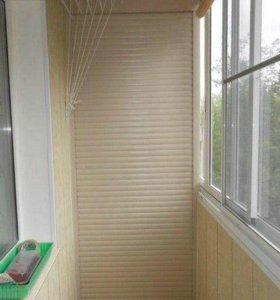 Рольставни на окна,двери,в нишу на балкон