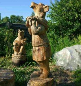 Деревянные фигуры